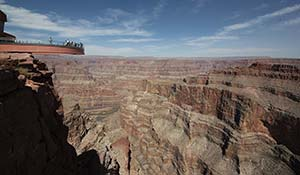 Skywalk sul Grand Canyon