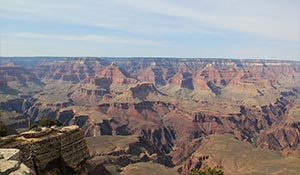 Grand Canyon meridionale di giorno