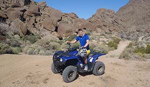 Guidare l'ATV per il Grand Canyon settentrionale