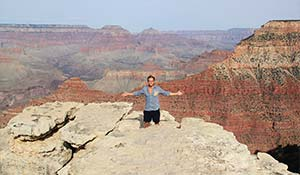 Vista sul Grand Canyon meridionale